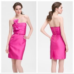 Kate Spade Contessa Dress Pink Strapless Size 4
